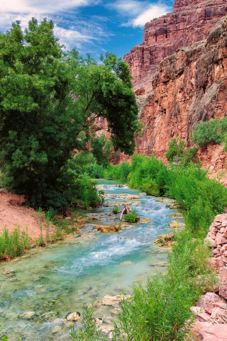 Река в каньоне 10-272