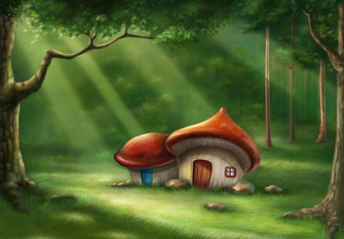 Сказочный лес 4-061