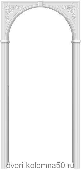 Арка Муза Винил (П-23) Белый