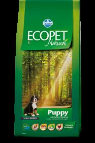 Ecopet Natural Puppy Maxi (Экопет Нэчурал для щенков крупных пород с курицей) 12 кг