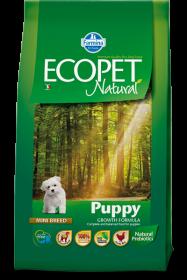 Ecopet Natural Puppy Mini (Экопет Нэчурал для щенков мелких пород с курицей)