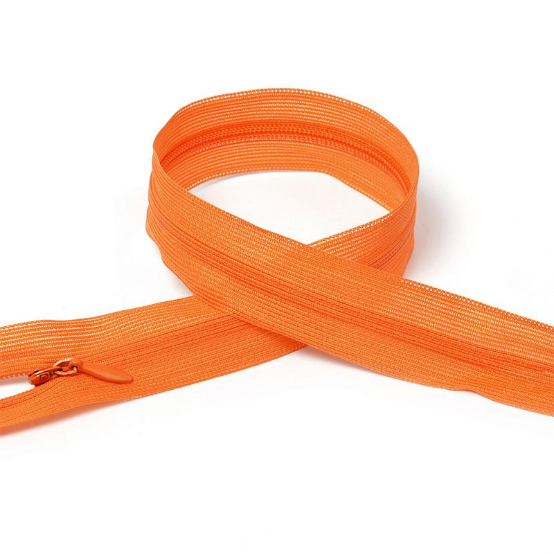 фото Молния потайная неразъемная №3  50 см оранжевый (F.ПОТАЙ.НР.50)