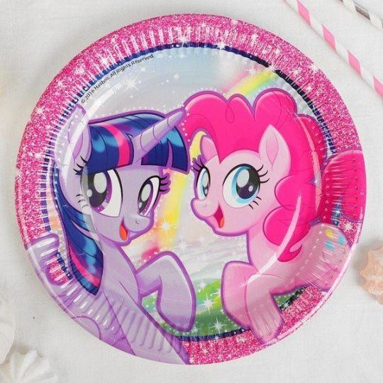 Тарелки Моя маленькая пони