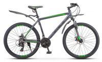 "Велосипед Stels Navigator 620 MD 26"" V010 14"" Антрацитовый (LU088804)"