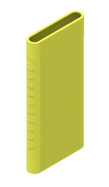 Защитный кейс для  Xiaomi Power Bank 5000 mAh ( Силикон / Салатовый)