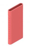 Защитный кейс для  Xiaomi Power Bank 5000 mAh ( Силикон / Розовый)
