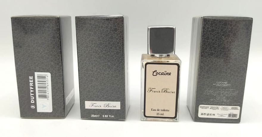 Суперстойкие 25 мл - Franck Boclet Cocaine