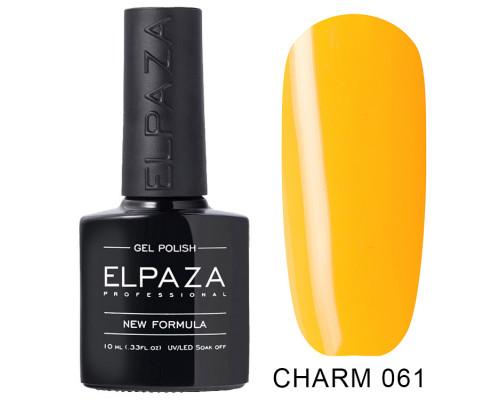 ELPAZA ГЕЛЬ-ЛАК  Charm 061  Апероль (Желтый)  10 мл