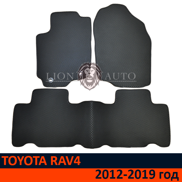 EVA коврики на TOYOTA RAV 4 (2012-2019г)
