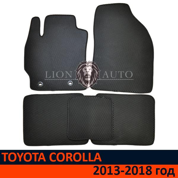 EVA коврики на TOYOTA COROLLA (2013-2018г)