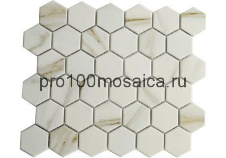 SOTA STATUARIO Мозаика СОТЫ 51*59 мм,  размер, мм: 325*281*6 (ORRO Mosaic)