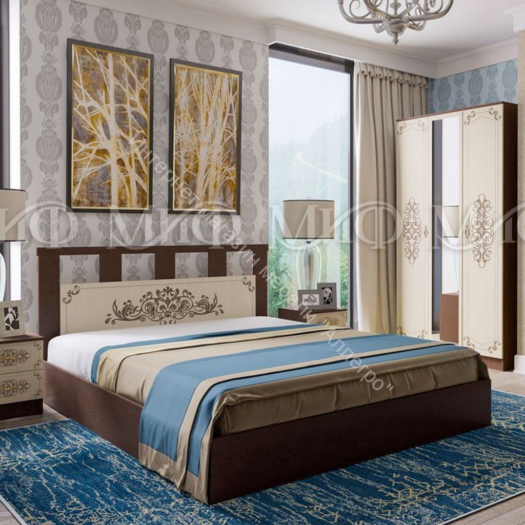 Кровать Жасмин 1,6 м