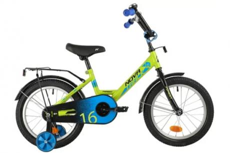 """Велосипед NOVATRACK 12"""" FOREST зеленый"""