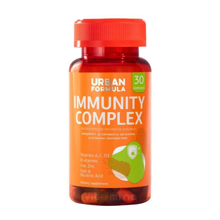 Урбан Формула Комплекс для иммунитета Премьер-Виталь Натурофарм Immunity Complex, 30 капс.