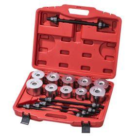 AV-922016 Набор для снятия и установки подшипников ступиц «чашки» 27 предметов AV Steel