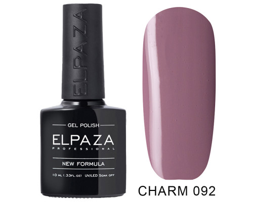 ELPAZA ГЕЛЬ-ЛАК  Charm 092 Осень (Сиренево-розовый)  10 мл