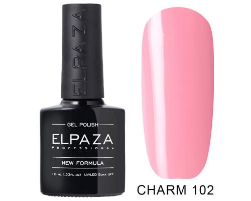 ELPAZA ГЕЛЬ-ЛАК  Charm 102 Розовые грёзы (Розовый) 10 мл