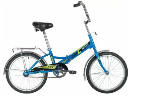 """Велосипед NOVATRACK 20"""" TG20, синий"""