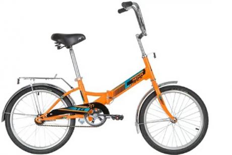 """Велосипед NOVATRACK 20"""" оранжевый"""