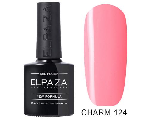 ELPAZA ГЕЛЬ-ЛАК  Charm 124  Алиса (Кораллово-розовый)  10 мл