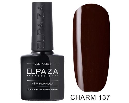 ELPAZA ГЕЛЬ-ЛАК  Charm 137  Джордано (Темно-коричневый)  10  мл
