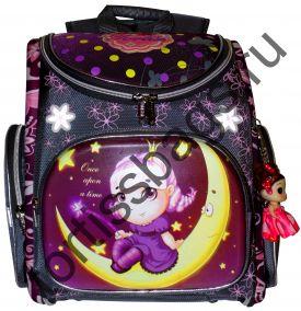 50679  ранец для девочек TORTISS ортопедический в комплекте с мешком (5 вариантов)