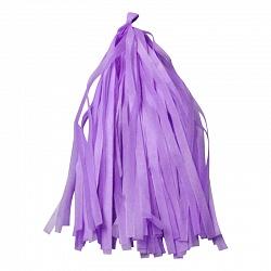 Гирлянда Тассел, лиловый, 3м, 12 листов