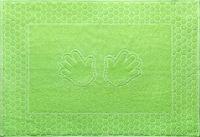 Полотенце махровое Салат (Ручки)