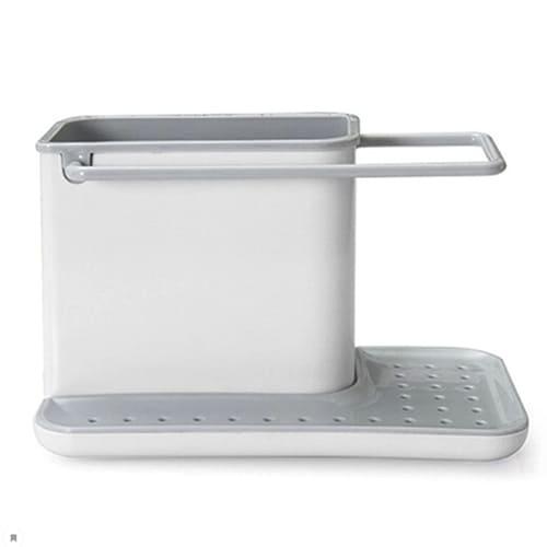 Органайзер для кухонных принадлежностей 3 в 1, цвет – серый.