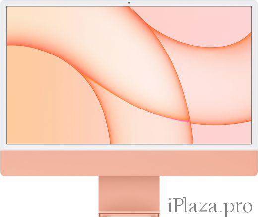 """Apple iMac 24"""" Retina 4,5K, M1 (8C CPU, 8C GPU), 8 ГБ, 512 ГБ SSD, оранжевый, Z133000AH"""