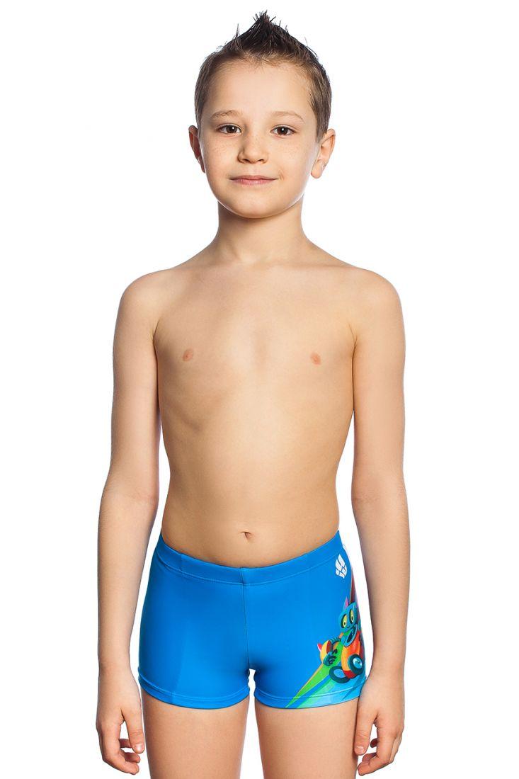 Плавки-шорты детские Mad Wave BONS голубые