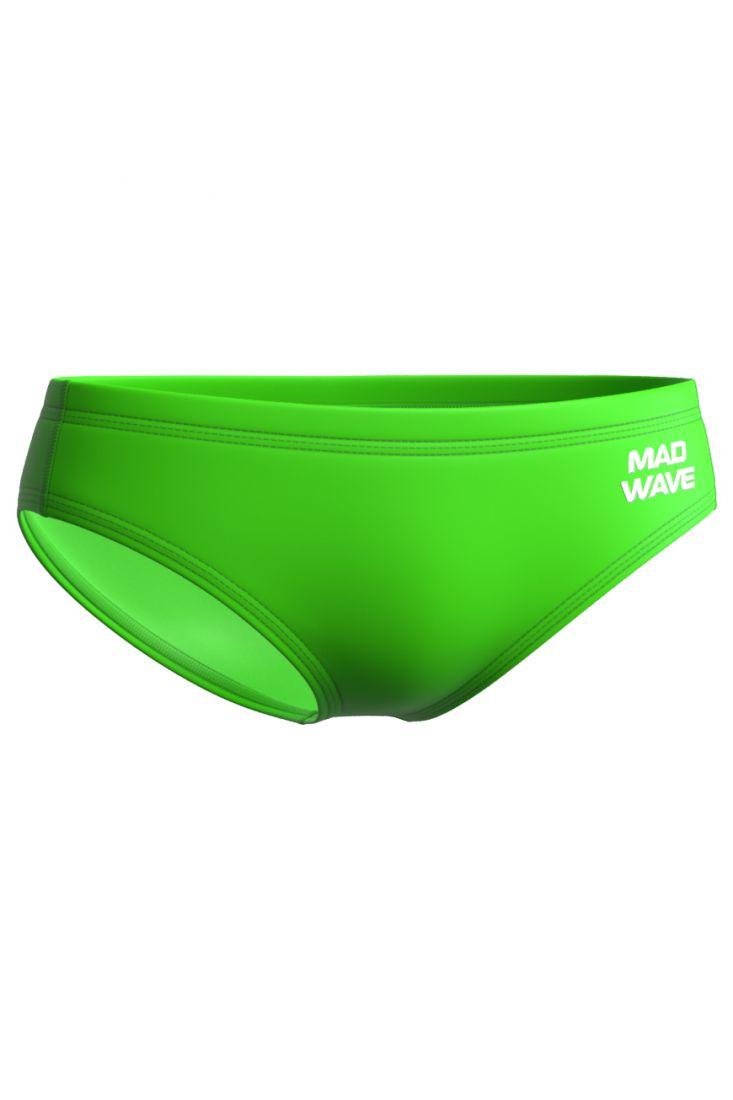 Плавки юниорские антихлор Mad Wave CULT Junior зеленые