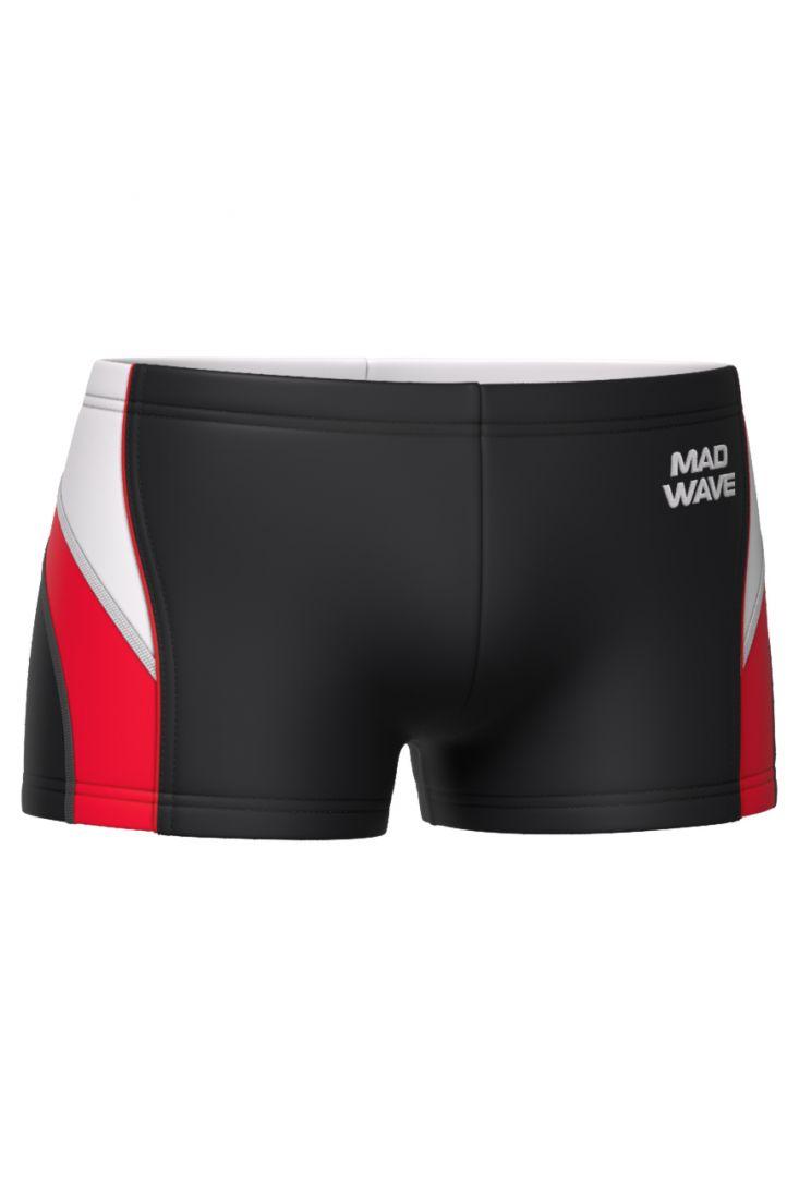 Плавки-шорты юниорские антихлор Mad Wave SPIRIT Junior черные