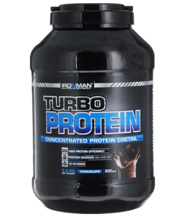 Протеин Турбо Ironman 2,8 кг