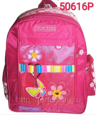 50616 рюкзак школьный детский ортопедическая спинка (2 варианта отделки)