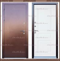 Входная дверь Классика Термо 1,8 мм Дуб Беловежский 100 мм с терморазрывом: