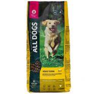 All DOGS Сухой корм для взрослых собак, с курицей. 20кг