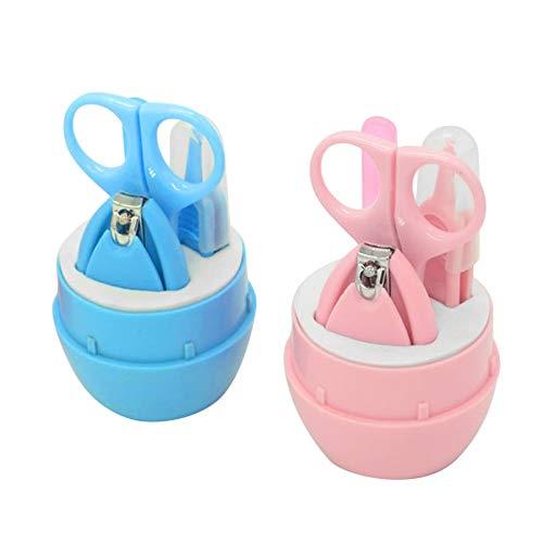 Маникюрный набор набор для детей из 4 инструментов Baby four set nail scissors