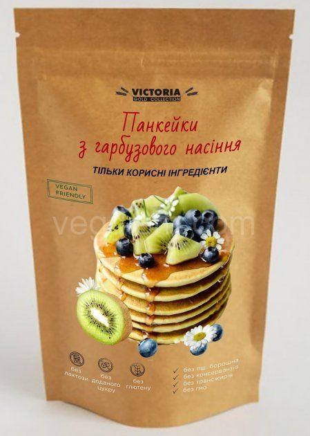 Смесь для выпечки Панкейки с тыквенных семян Victoria, 250 грамм