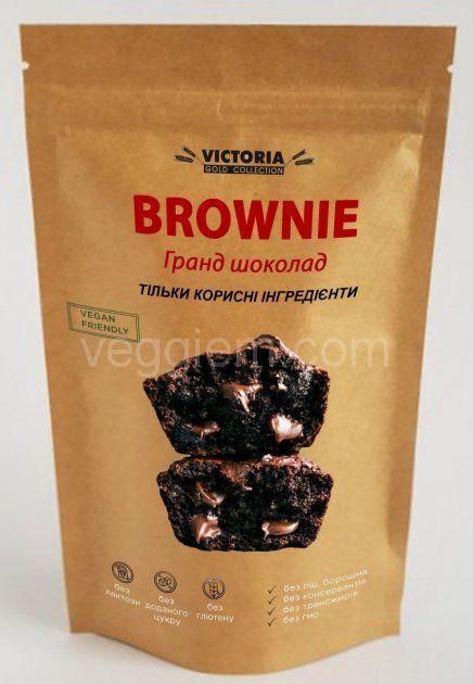 "Смесь для выпечки ""Брауни Гранд Шоколад"" Victoria, 300 грамм"