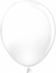 Шар (12''/30 см) белый, пастель, 100 шт.