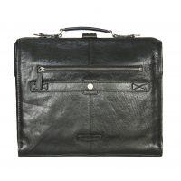 Деловая кожаная сумка HIDESIGN BARCELONA-02 Black