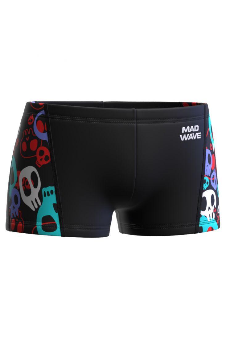 Плавки-шорты юниорские Mad Wave Splash Junior С1 черные
