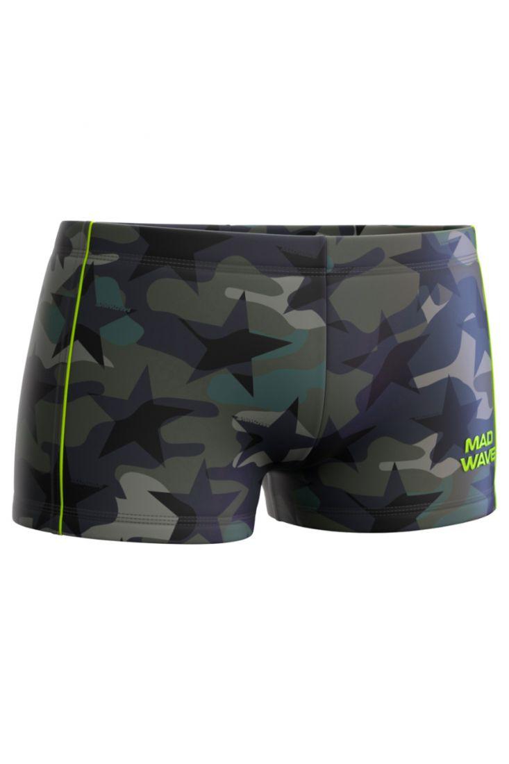 Плавки-шорты юниорские Mad Wave X-pert Junior E1 черные