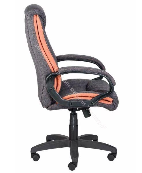 Кресло Оптима Нome ультра (чёрный/оранжевый/серый)