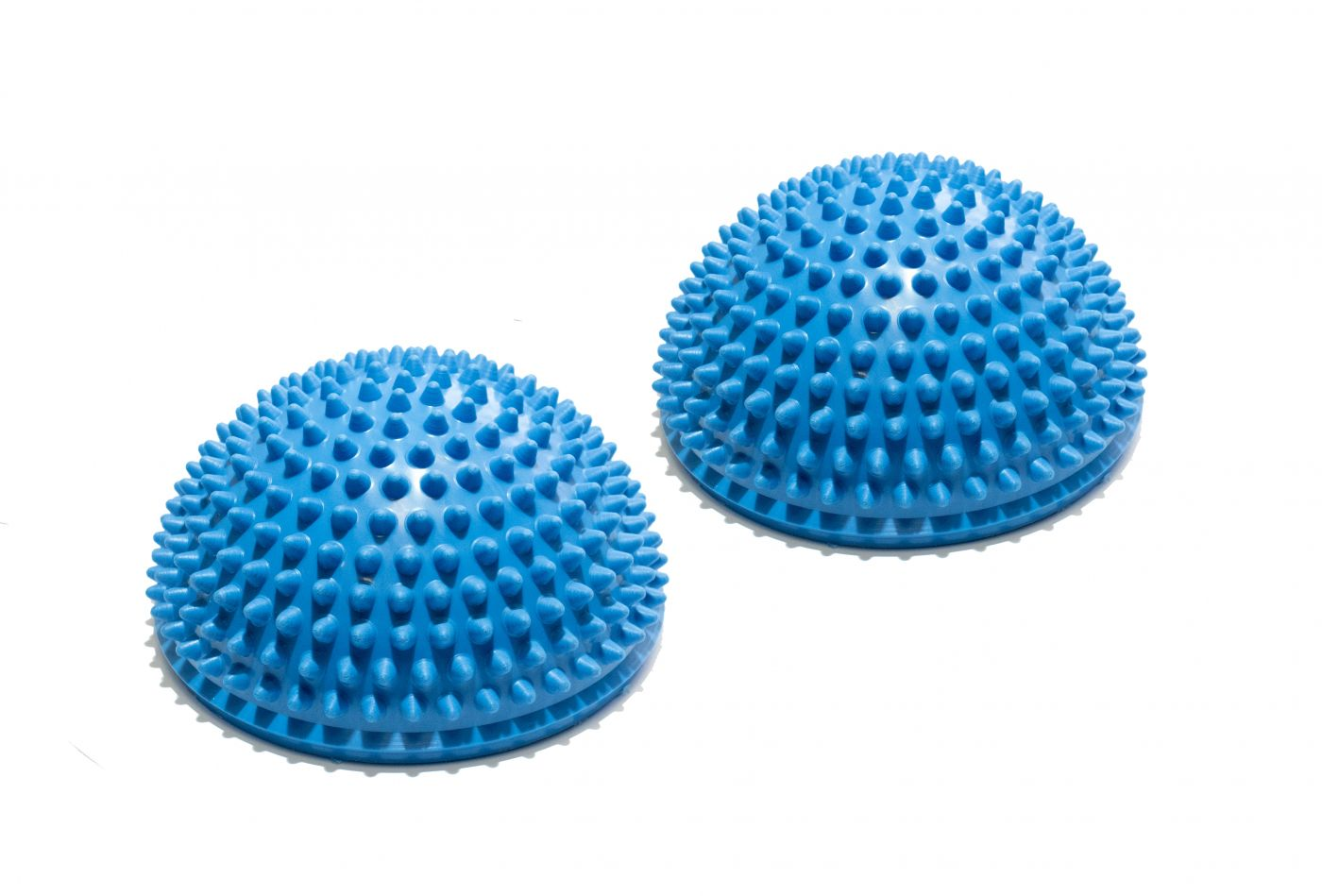Полусфера массажно-балансировочная (набор 2 шт) синяя FT-MSD-2BS