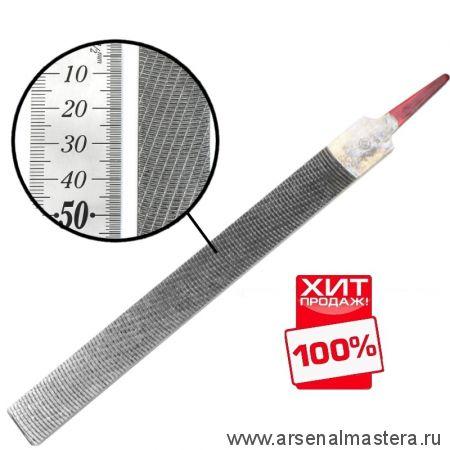 Рашпиль японский Iwasaki красный прямой плоский 200 х 20 мм шаг 1,2 мм Miki Tool CP-20E М00010280 ХИТ !