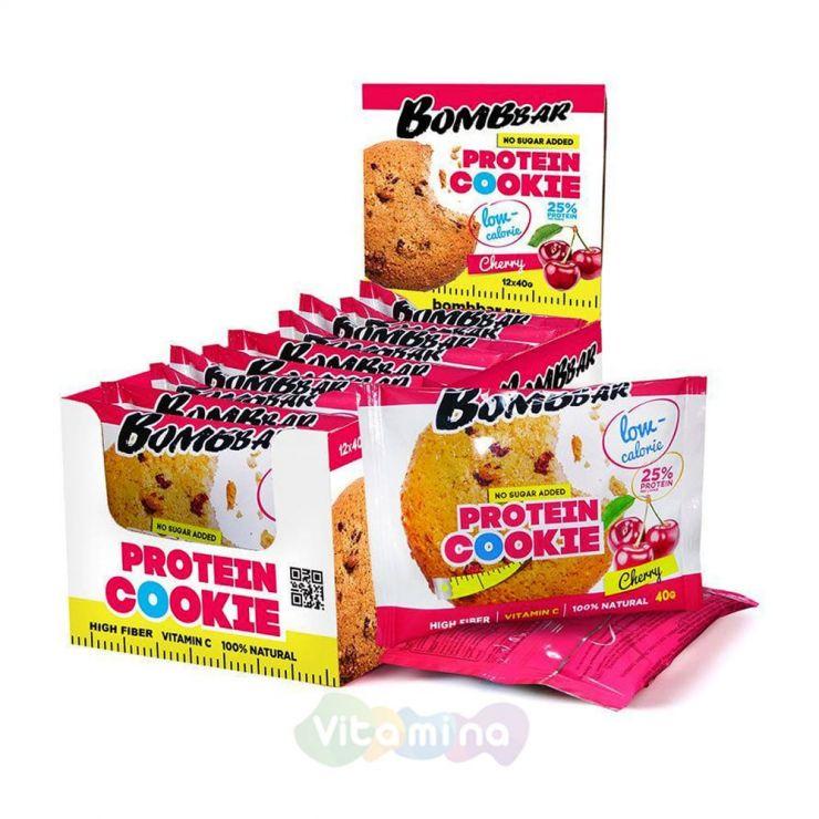 Bombbar Низкокалорийное протеиновое печенье, 40гр