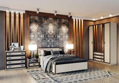Кровать Велес Наоми с ПМ