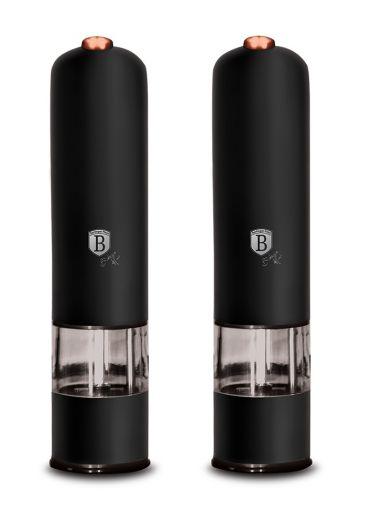 BH-9286 Black-Rose Collection Электрическая перцемолка 1+1